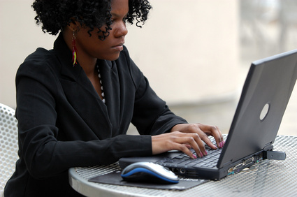 Black Woman Blogging